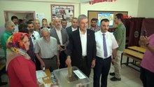 Sağlık Bakanı Demircan, Samsun'da oyunu kullandı