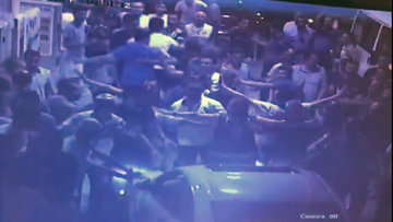AKPartilikadınlara saldırı girişimi güvenlik kamerasında