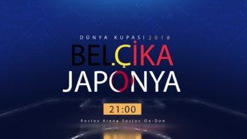 Dünya Kupası Belçika-Japonya Özel Video