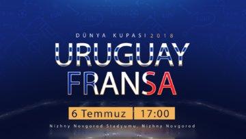 Dünya Kupası Uruguay-Fransa Özel Video