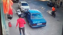 Hırsız, paraları havaya saçarak kaçtı