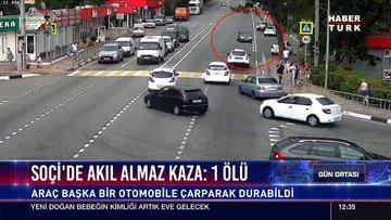 Soçi'de akıl almaz kaza: 1 ölü
