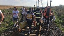 Kapıkule-İstanbul seferini yapan yolcu treninin vagonu devrildi