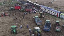 Tekirdağ'da yolcu treni devrildi! 10 ölü, 73 yaralı
