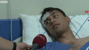 Tekirdağ'ın Çorlu ilçesindeki tren kazasından kurtulan yaralılar anlatıyor: Köylülerden başka kimse yoktu