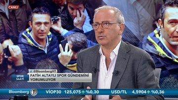 Fatih Altaylı - Fatih Kuşçu - Spor Saati 2. Bölüm (09.07.2018)3
