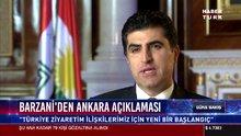 Barzani'den Ankara açıklaması