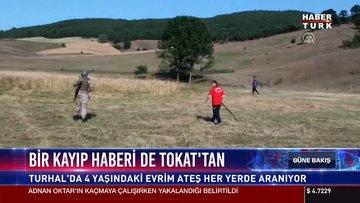 Bir kayıp haberi de Tokat'tan