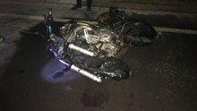 Bursa'da çarpışan iki motosiklet alev aldı! 3 kişi öldü