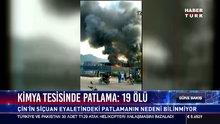 Kimya tesisinde patlama:19 ölü