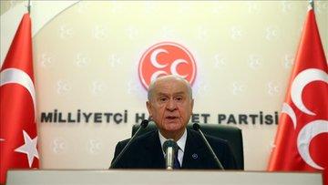 MHP lideri Bahçeli'den af açıklaması