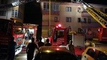 Ankara'da çatı yangını