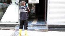 İzmir'de iş merkezinin deposunda erkek cesedi bulundu