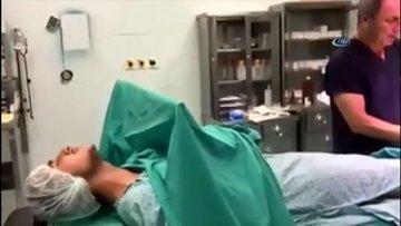 Ameliyat sırasında türkü söyleyen hasta
