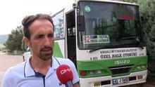 Otobüs şoförü Özgür Sert'ten açıklama