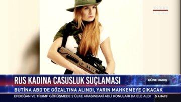 Rus kadına casusluk suçlaması
