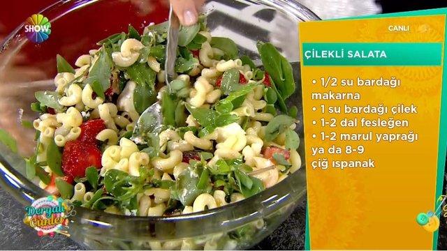 Çilekli Salata Tarifi!
