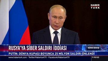 Rusya'ya siber saldırı iddiası