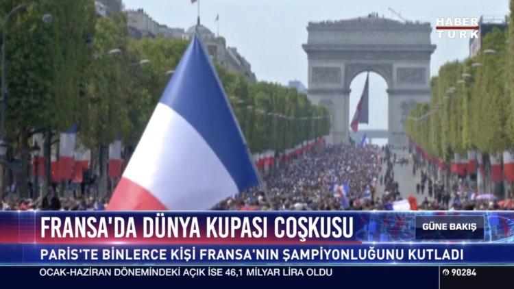 Fransa'da Dünya Kupası coşkusu