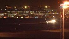 Kuş sürüsüne çarpan THY uçağı Atatürk Havalimanı'na iniş yaptı!
