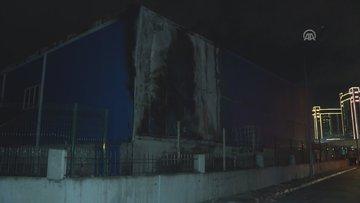 Büyükçekmece'de fabrika yangını!
