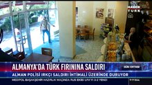 Almanya'da Türk fırınına saldırı