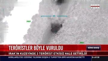 Teröristler böyle vuruldu