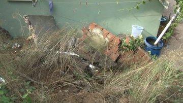 Beykoz'da yağmur sonrası duvar çöktü: 1 kadın öldü 1 kadın yaralı