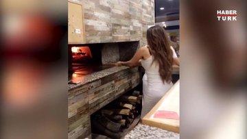 Ebru Polat'ın pide videosu sosyal medyada olay oldu