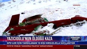 Yazıcıoğlu'nun öldüğü kaza