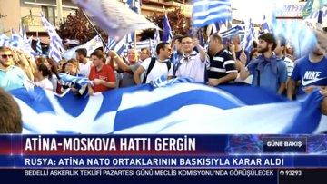 Atina - Moskova hattında kriz