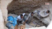 Mısır'daki gizemli siyah lahit açıldı