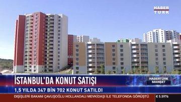 İstanbul'da konut satışı