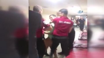 Doktora şiddet anı kamerada! Saldırgan: O doktoru öldüreceğim