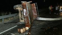Aydın'da kamyonetle traktör çarpıştı: 1 ölü, 2 ağır yaralı