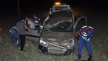 Çorum'da otomobil şarampole devrildi: 2 ölü, 6 yaralı