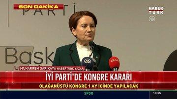 Meral Akşener isitfa etti iddiası