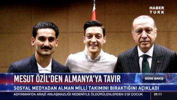 Mesut Özil'den Almanya'ya tavır