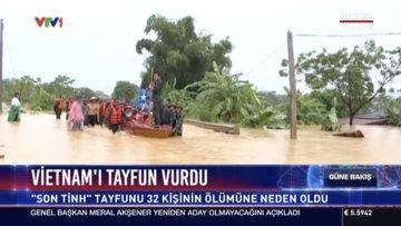 Vietnam'ı tayfun vurdu