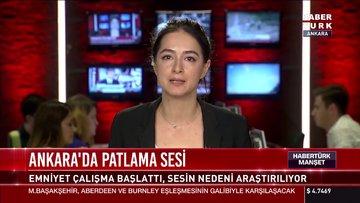 Ankara'da patlama sesi