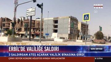 Erbil'de valiliğe saldırı
