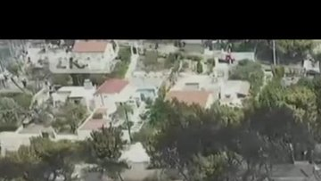 Yunanistan'daki korkutan yangında son durum