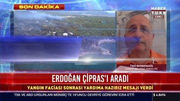 Erdoğan, Çipras'ı aradı