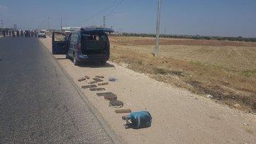Afrin'e  bomba yüklü araçla saldırıyı MİT önledi