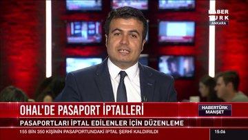 OHAL'de pasaport iptalleri