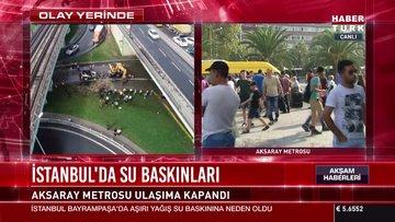 İstanbul'da su baskınları