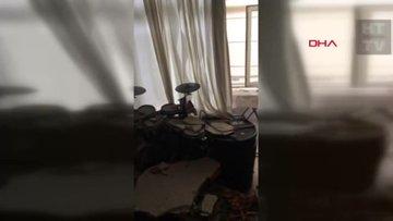 Beşiktaş'ta oturan oyuncunun evi beton altında kaldı
