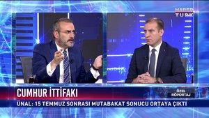 Özel Röportaj - 25 Temmuz 2018 (AK Parti Genel Başkan Yardımcısı ve Parti Sözcüsü Mahir Ünal)
