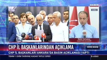 CHP İl Başkanlarından açıklama