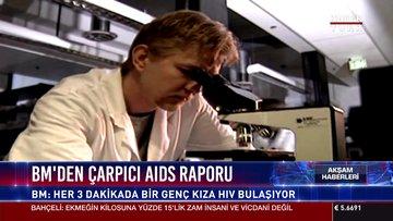 BM'den çarpıcı AIDS raporu